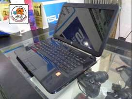 Asik Laptop HP 14 AMD E1-2100 hitam