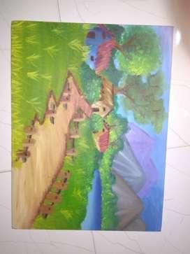 Wall decor piece