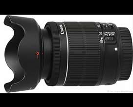 Canon STM best lens 18-55 with excellent condition like new