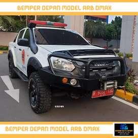 Bemper depan besi dmax triton hilux ready stock kaisar auto sport
