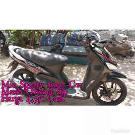 Mio Sporty 2007 Cw Mesin ToP Jaminan