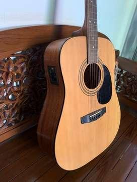 Gitar akustik elektrik cort AD810E