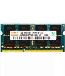 4gb ddr3 laptop ram perfect condition