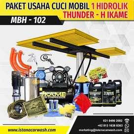 """PAKET CUCI MOBIL """"1 HIDROLIK"""" MBH-102 - Hidrolik cuci mobil motor"""