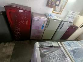 Single fridges with 3 months warranty, delivery available