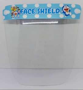 face shield anak buka tutup