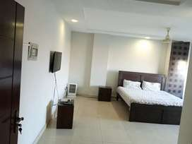 Beautiful Fully furnished studio apprtmnt for rent in Bahria town ph4