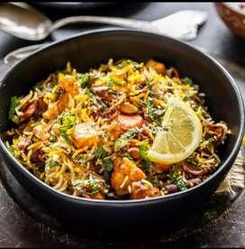 I want veg briyani master