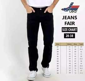 Celana jeans pria regular
