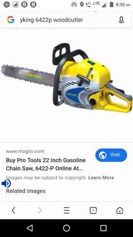 Pro king woodcutter machine 6422-p  45 cc 22 inch baar