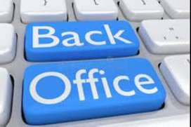 Opening for data entry / back office fresher & exp. candidates