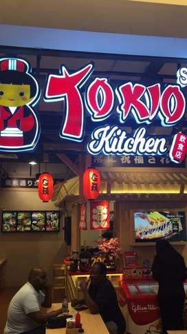 Dicari cook helper yg pengalaman utk restoran jepang area kalibata