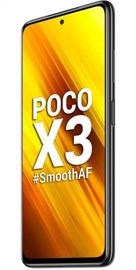Poco x3 128 gb brand new condition urgent sell