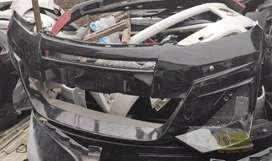Bumper depan alphard 2013 custom