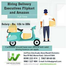 Hiring Delivery Executive for online shopping portal