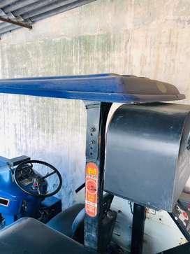 Farmtrac60 top model chatri/12 inch deck