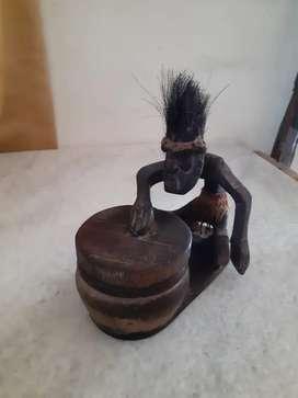 Jual Patung kayu Papua..Asli.