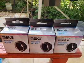 Adaptor meike for canon miroles