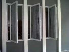Diorder kusen pintu dan jendela aluminium