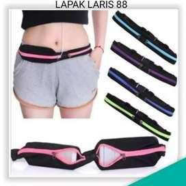 Tas Ikat Pinggang utk Lari / Olahraga/ Running Waist Bag Belt/ Pocket