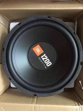 New JBL 1200 watts woofer with wooden box
