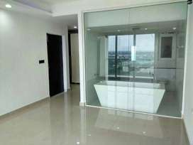 2bhk flat for sale in a healthy environment with one side glassconcept