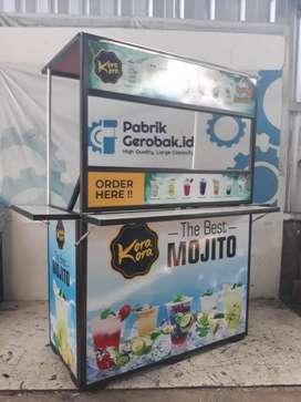 Booth portable lipat berkualitas flexibel