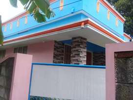 4 cents with fully finished home (2 BHK) at Decent Jn., Kollam dist.