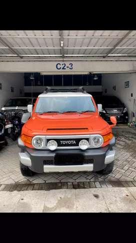 Fj Cruiser 2014 Orange harga bisa nego , cash dan kredit