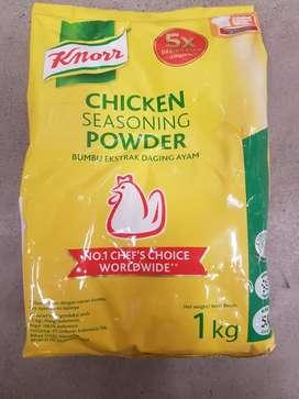 Bubuk Ekstrak Daging Ayam KNORR @ 1 kg-wadah plastik-baru