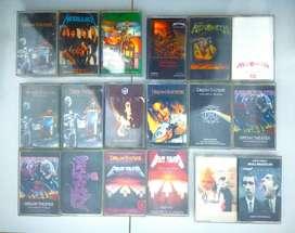Kaset Tape Pita Dream Theater Metallica Helloween Majesty
