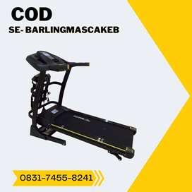 treadmill elektrik tl 636 treadmil auto incline COD Banyumas