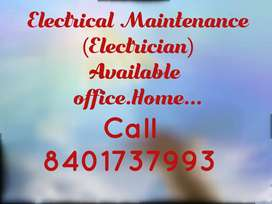 Electrical maintenance Technician Available