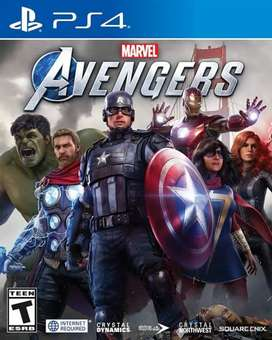 Ps4 games Avengers, injustice 2 , dishonored 2