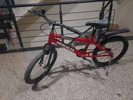 Hercules trooper 20 T bicyclefor kids, single speed, red