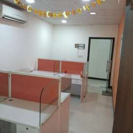Fully Furnished Office For Rent in Noida 1 cabin 7 work station