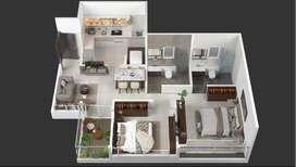 2 Bedroom Apartment Tathawade, Pune, Maharashtra