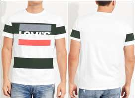A # LEVIS T-SHIRT AVAILIBLE  NOW JUST IN=850 PKR FABRIC=COTTON
