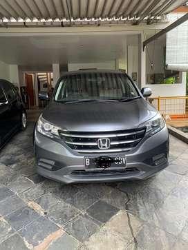 Honda CR-V 2013 abu abu metalik AT