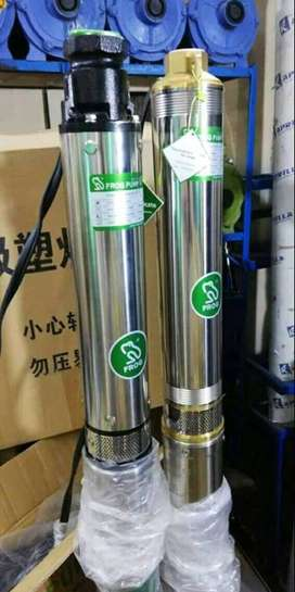 Brass Head. Single Phase Submersible Motor Pump. 1.5 HP 6 Months