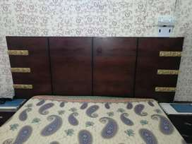 Few months used bed set King size
