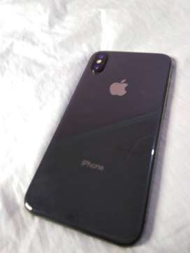 Iphone x 256GB space gray Non Approved