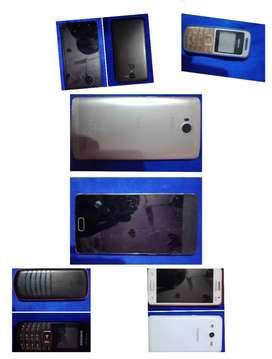 Samsung Nokia micromax Panasonic  mobiles