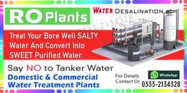 RO plant - Water Desalination System