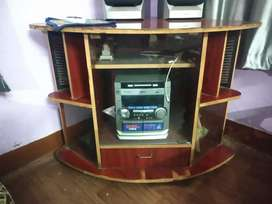 Corner TV Table