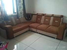 L shape sofa set(payment by cash only)