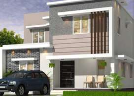 Exclusively Crafted 3BHK Villas For Sale At Ottapalam