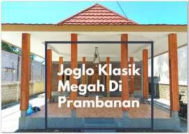Rumah Joglo Dengan Pavilliun Terpisah Di Utara Candi Prambanan