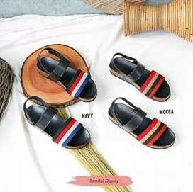 Sandal Dianty. Warna 2 Macam