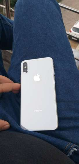 I phone x 64gb white
